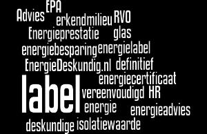 Energielabel afkortingen en termen. EnergieDeskundig.nl