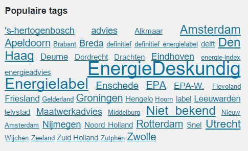 Energielabel architect - erkend deskundigen architect